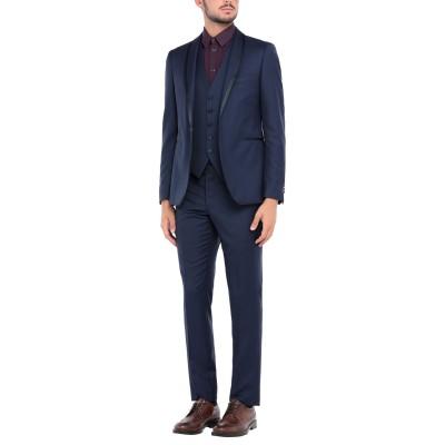 タリアトーレ TAGLIATORE スーツ ダークブルー 52 スーパー110 ウール 100% スーツ