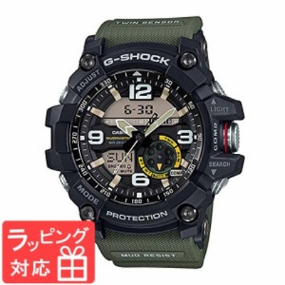 CASIO カシオ G-SHOCK メンズ アナデジ アナログ マッドマスター 腕時計 GG-1000-1A3 海外モデル ブラック×カーキー×イエロー