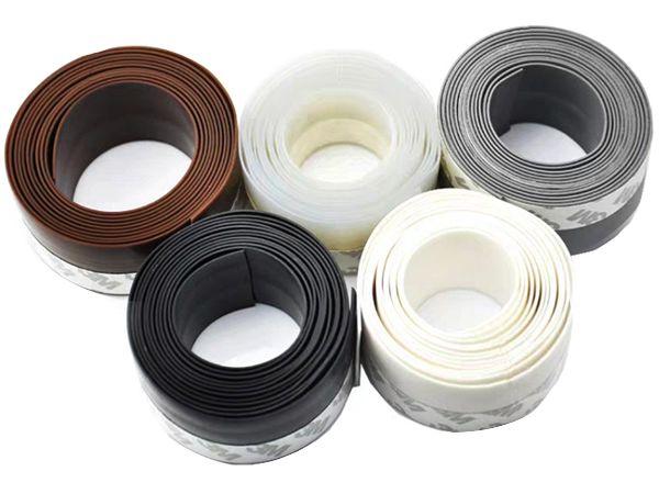 門窗防塵密封條1捲入(35mm寬) 透明/棕色 顏色可選【DS001271】