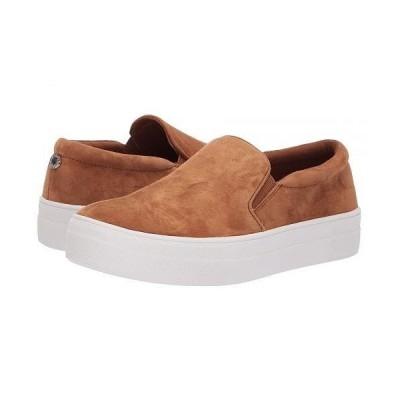 Steve Madden スティーブマデン レディース 女性用 シューズ 靴 スニーカー 運動靴 Gills Sneaker - Chestnut Suede