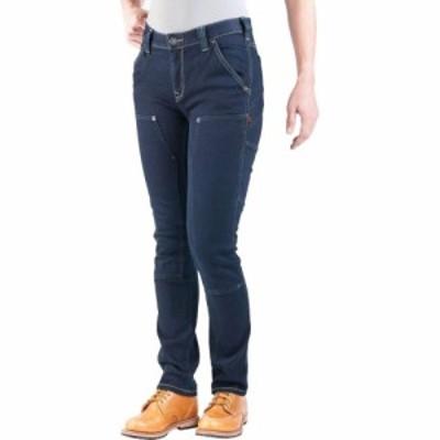 ダブテイル Dovetail Workwear レディース スキニー・スリム ボトムス・パンツ Maven Slim Pant Powerflex Indigo Denim