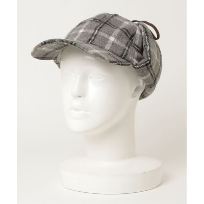 yield / 【Lovable】Check Flap Cap LCN-U17537 WOMEN 帽子 > キャップ
