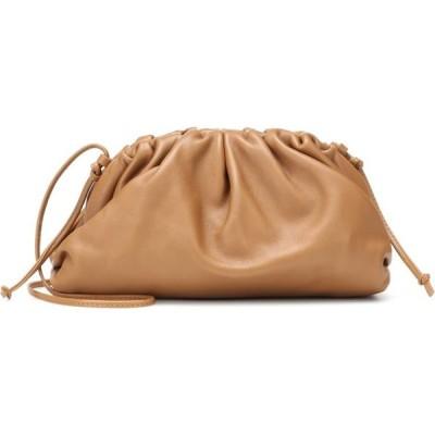 ボッテガ ヴェネタ Bottega Veneta レディース クラッチバッグ バッグ The Mini Pouch leather clutch Cammello Gold