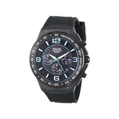 Pulsar Men's PT3405 Analog Display Japanese Quartz Black Watch