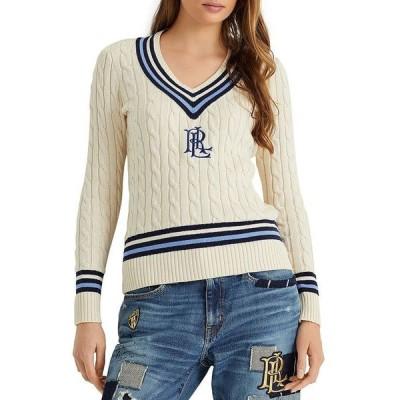 ラルフローレン レディース ニット・セーター アウター Logo Cricket Sweater