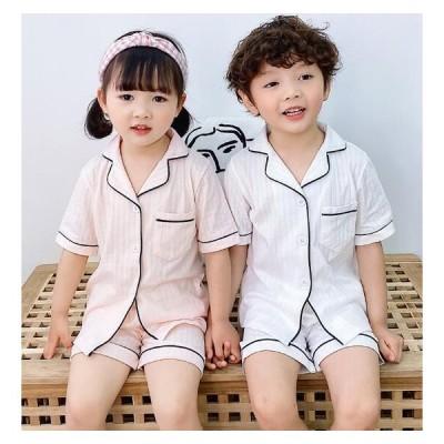 子供パジャマ 男の子 女の子 パジャマ 子ども用パジャマ パンツ セットアップ ルームウェア  夏 薄手 部屋着 寝巻き 可愛い