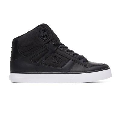 カジュアルシューズ ディーシーシューズ DC Shoes Men's Pure TX SE High-Top Shoes ADYS400046 BLACK MARL