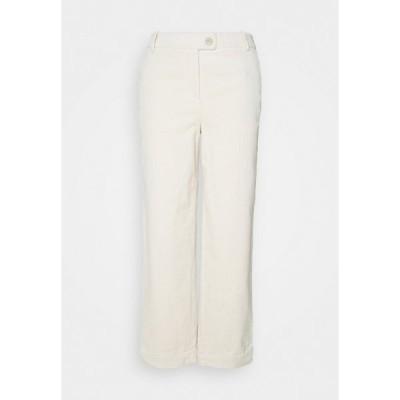 サムデイ  カジュアルパンツ レディース ボトムス CELLI - Trousers - cloudy cream