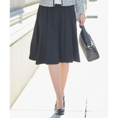 SHOO・LA・RUE / シューラルー 【S-3Lまで/セレモニー】タックフレアースカート