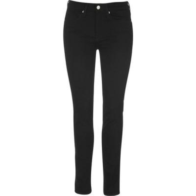 カルバンクライン Calvin Klein Jeans レディース ジーンズ・デニム スキニー ボトムス・パンツ Calvin High Rise Skinny Jeans Eternal Black