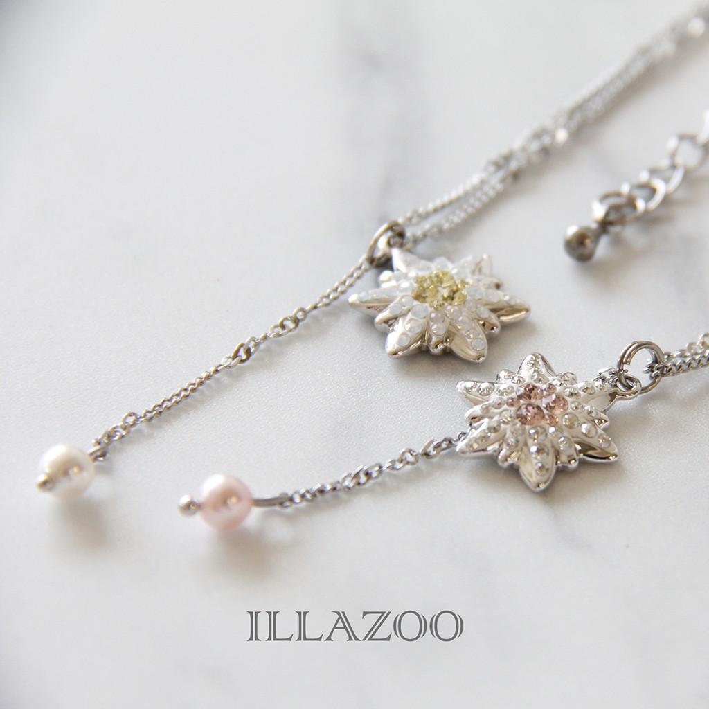 【雪絨花】ILLAZOO   項鍊 飾品配件 流行飾品 現貨賣場 最新流行 手工製作 送禮首選 情人節