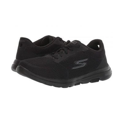 SKECHERS Performance スケッチャーズ レディース 女性用 シューズ 靴 スニーカー 運動靴 Go Walk 5 - Lucky - Black