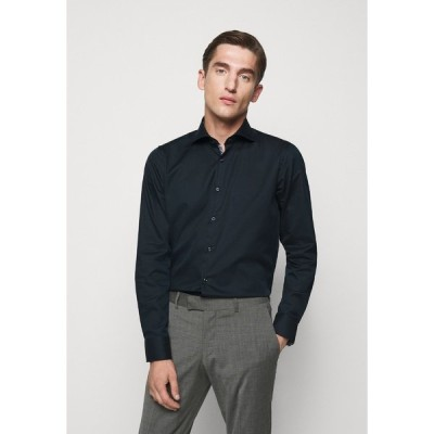 ジョープ シャツ メンズ トップス PANKOK - Formal shirt - marine
