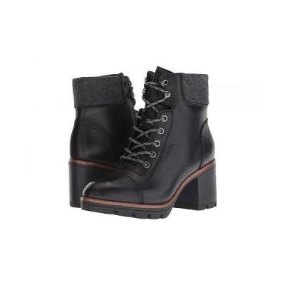 Naturalizer ナチュラライザー レディース 女性用 シューズ 靴 ブーツ アンクル ショートブーツ Varuna Waterproof - Black Waterproof