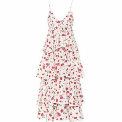 ドド バー オア Dodo Bar Or レディース ワンピース ノースリーブ ワンピース・ドレス Sleeveless floral-printed dress White