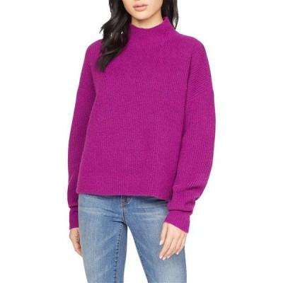 サンクチュアリー レディース ニット・セーター アウター Fuzzy Mock Sweater
