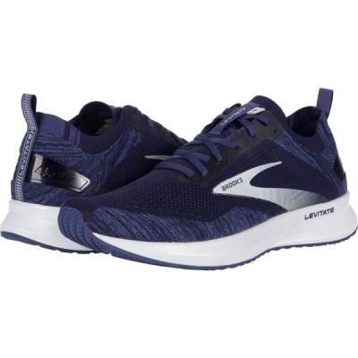 ブルックス Brooks メンズ ランニング・ウォーキング シューズ・靴 Levitate 4 Navy/Grey/White