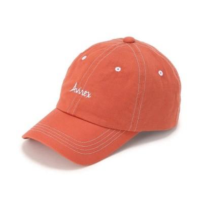 【アヴィレックス】【FUDGE 6月号掲載】【直営店限定】Women's/綿麻キャップ/ COTTON×LINEN CAP