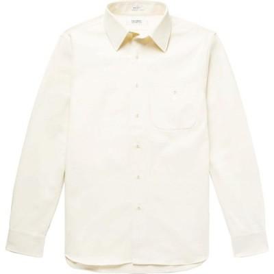 フリーマンズ スポーティング クラブ F.S.C. FREEMANS SPORTING CLUB メンズ シャツ トップス Solid Color Shirt Ivory