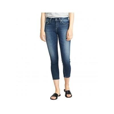 Silver Jeans Co. レディース 女性用 ファッション ジーンズ デニム Avery High-Rise Curvy Fit Skinny Crop Jeans L44910ASX375 - Indigo