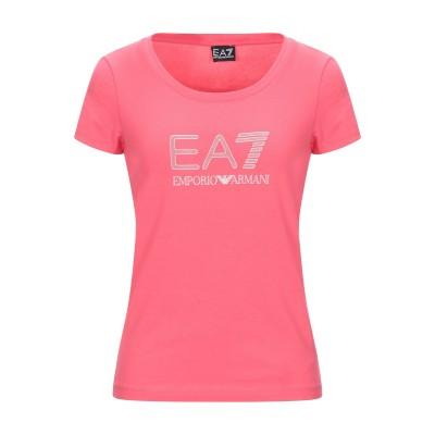 EA7 T シャツ フューシャ S コットン 95% / ポリウレタン 5% T シャツ