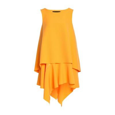 PAPER London ミニワンピース&ドレス イエロー 12 ポリエステル 95% / ポリウレタン 5% ミニワンピース&ドレス