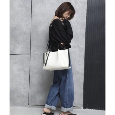 【アングリッド バッグ】スムースラージトートバッグ