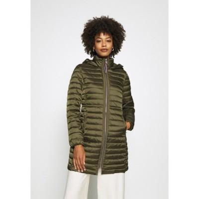 トミー ヒルフィガー ジャケット&ブルゾン レディース アウター COAT - Light jacket - army green