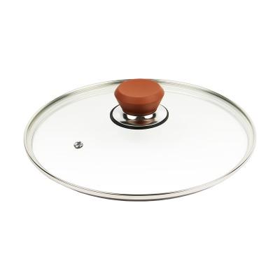 フレーバーストーン 24cm 専用ガラス蓋 ブロンズゴールド