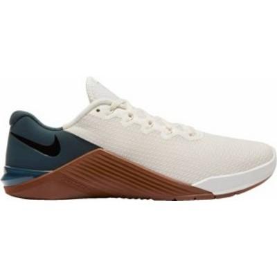 ナイキ メンズ スニーカー シューズ Nike Men's Metcon 5 Training Shoes Ivory/Blk/Seaweed/Tan