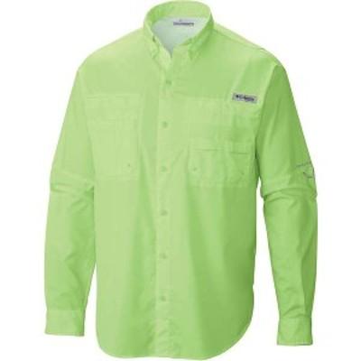 コロンビア メンズ シャツ トップス Columbia Men's Tamiami II LS Shirt Jade Lime
