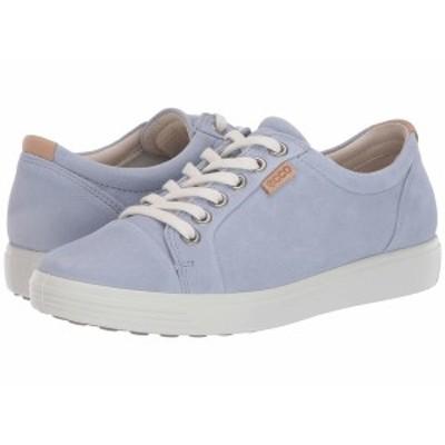 エコー レディース スニーカー シューズ Soft 7 Sneaker Dusty Blue