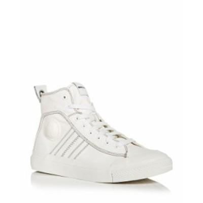 ディーゼル メンズ スニーカー シューズ Men's S-Astico High Top Sneakers White