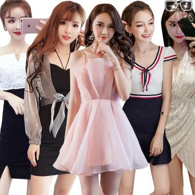 韓国ファッション レース シフォン ワンピース ニット レディース セクシー ドレス チャイナドレス ミニスカート ワンピ ナイトクラブ ワンピース レギンス