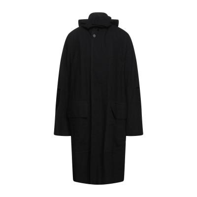 アン ドゥムルメステール ANN DEMEULEMEESTER コート ブラック S コットン 100% コート