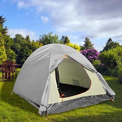 テント Folding 2-3 Person Water Resistant Camping Tent Portable Light-weight Backpacking Tent With Carrying Bag.