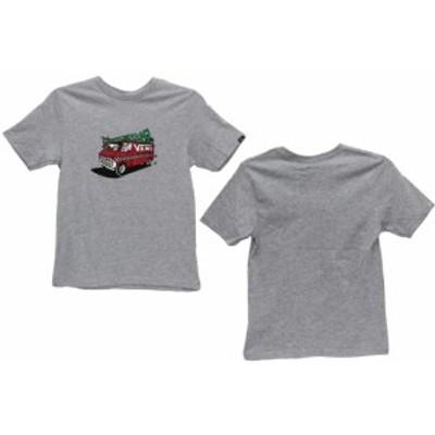 VANS(バンズ)B VANS FAMILY XMAS BOYSVN0A3IJ9ATH ジュニア Tシャツ