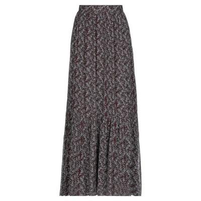 VANESSA BRUNO ロングスカート  レディースファッション  ボトムス  スカート  ロング、マキシ丈スカート ココア