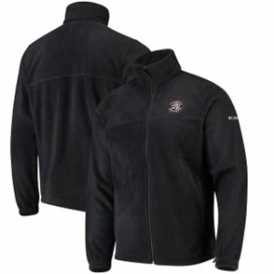 Columbia コロンビア スポーツ用品  Columbia Toronto Raptors Black Flanker Fleece Full-Zip Jacket