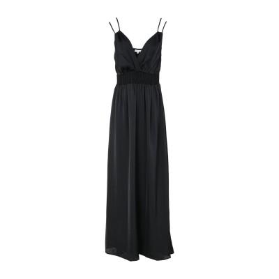 シルビアンヒーチ SILVIAN HEACH ロングワンピース&ドレス ブラック L ポリエステル 100% ロングワンピース&ドレス