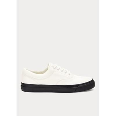 ポロ ラルフローレン レディース Polo Ralph Lauren Bryn Leather Sneaker スニーカー White