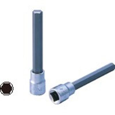 """SIGNET(シグネット) 9.5sq.(3/8""""DR)ロングヘックスビットソケット 4mm 22942"""