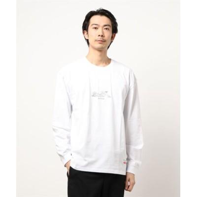 tシャツ Tシャツ 【69】【it】【POEMS】手書き風フロントプリントロングスリーブ