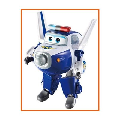 """Super Wings - Transforming Paul Toy Figure, Plane, Bot, 5"""" Scale"""