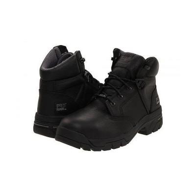 "Timberland PRO ティンバーランド メンズ 男性用 シューズ 靴 ブーツ 安全靴 ワーカーブーツ Helix 6"" Waterproof Composite Toe - Black"