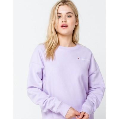 チャンピオン CHAMPION レディース スウェット・トレーナー トップス Reverse Weave Lilac Sweatshirt LILAC