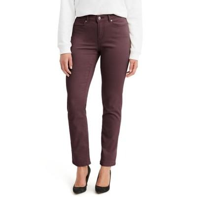 リーバイス デニムパンツ ボトムス レディース Women's Classic Straight-Leg Jeans Malbec Twill