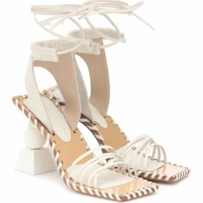 ジャックムス Jacquemus レディース サンダル・ミュール シューズ・靴 Les Sandales Valerie Hautes Sandals Off White