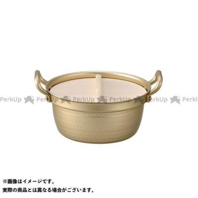 小伝具 アルミ段付なべ(木蓋付)18.5cm kodengu