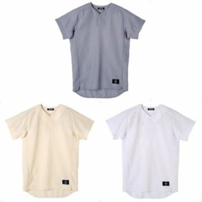 デサント DESCENTE 野球ウェア メンズ 学生試合用ユニフォーム 立衿ボタンダウンシャツ STD52TA 2019FW
